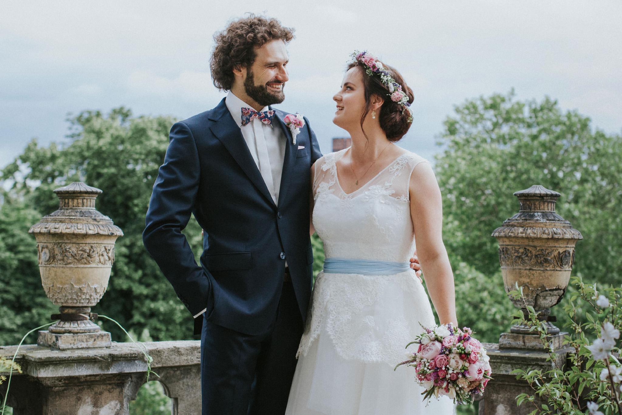 Ślub DIY vintage w starym młynie