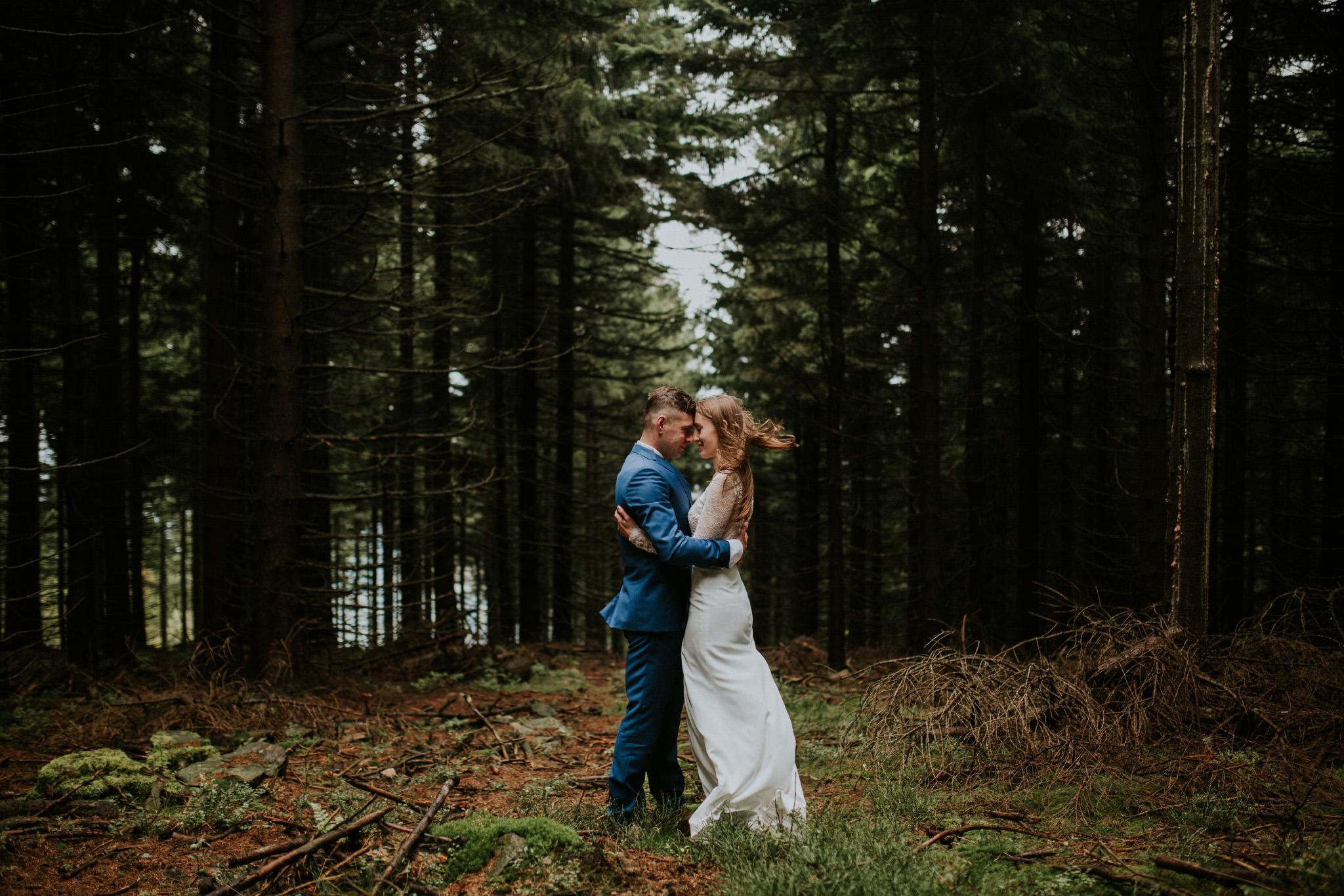 Polish mountains post-wedding shoot