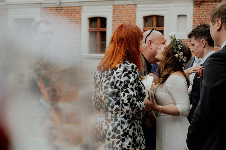 Fotograf ślubny Zielona Góra Leniwka ceremonia w plenerze