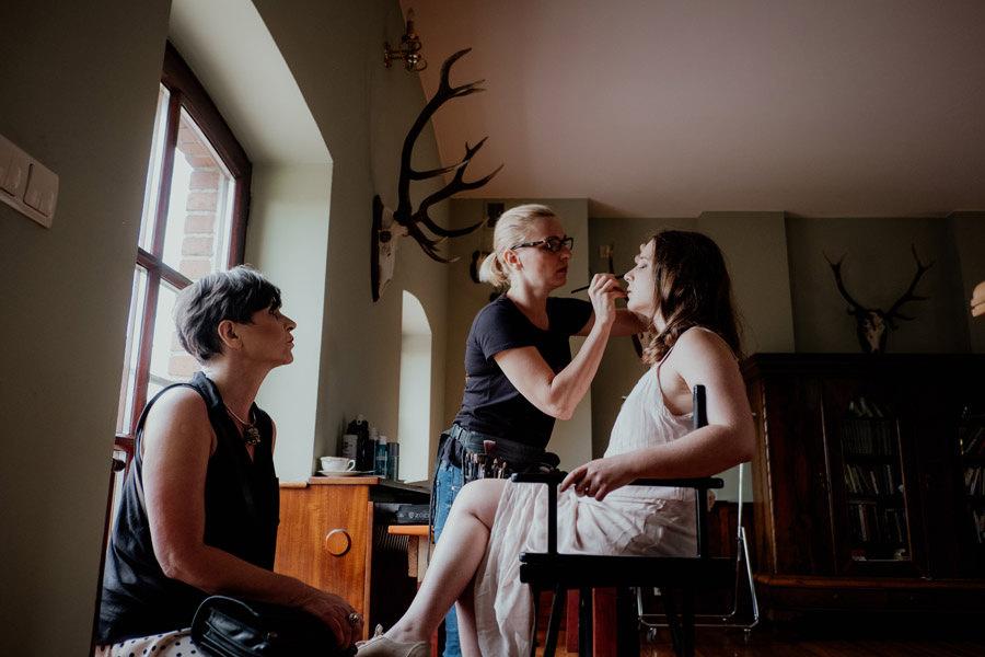 Fotograf ślubny Zielona Góra Leniwka przygotowania