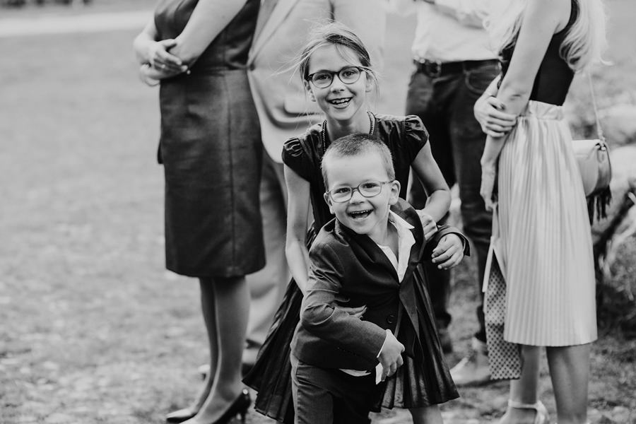 Dzieci na weselu Wesele Majątek Howieny