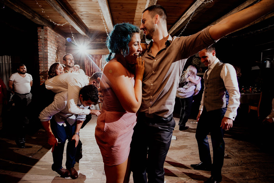 Oczepiny Taniec na Gazecie Wesele Majątek Howieny