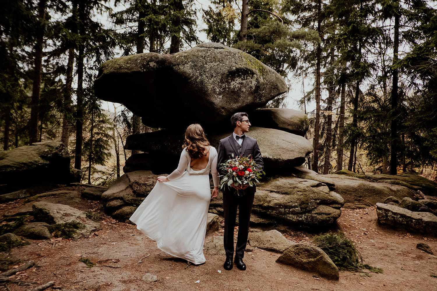 Outdoor Wedding in the Mountains