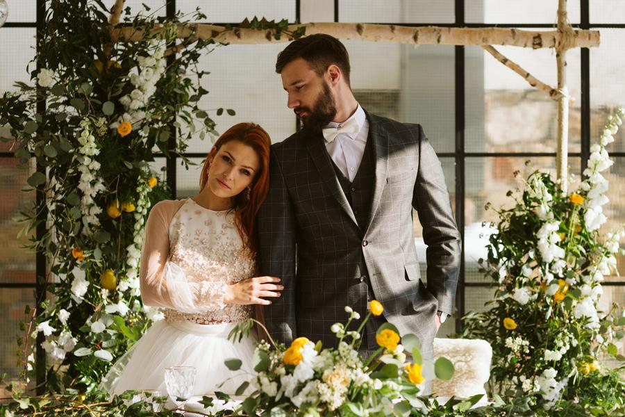 Cytrynowy ślub i wesele Polna Zdrój