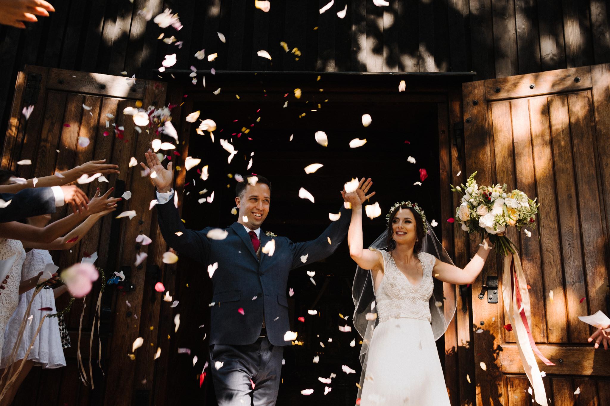 Ślub w stodole - Folwark Wąsowo