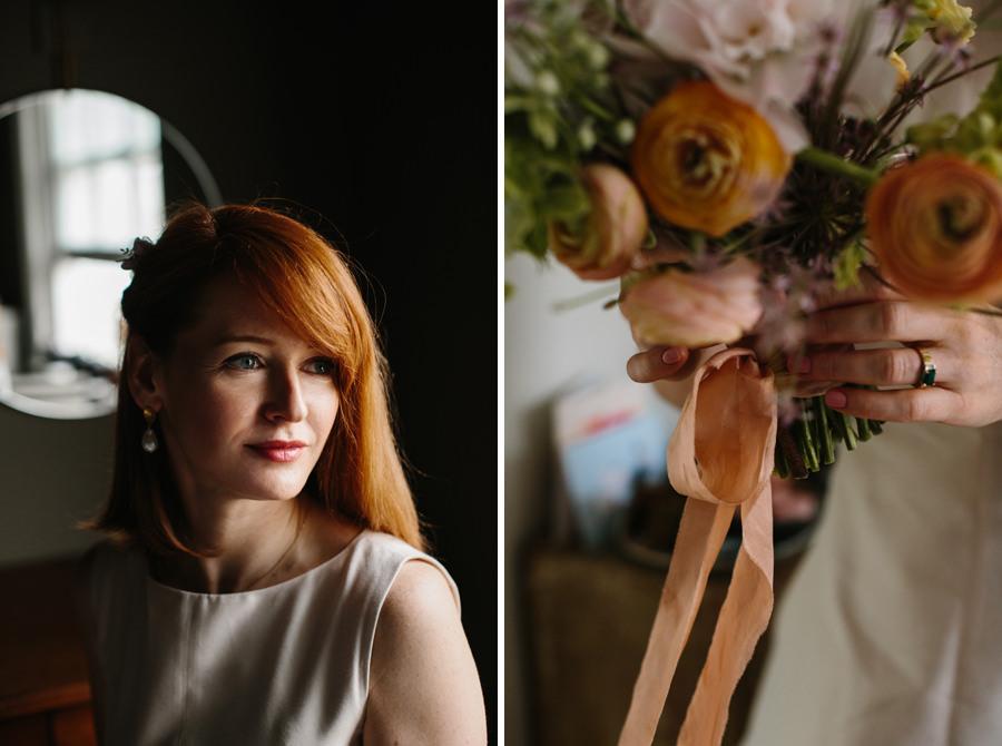 London Wedding Photographer bride portrait