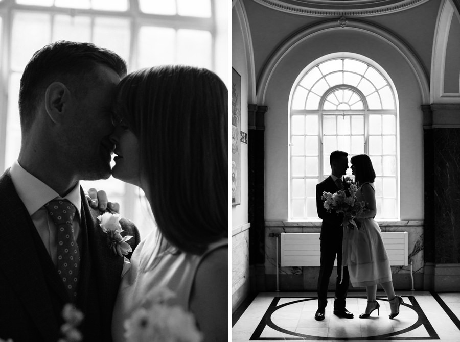 London Wedding Photographer couple portrait
