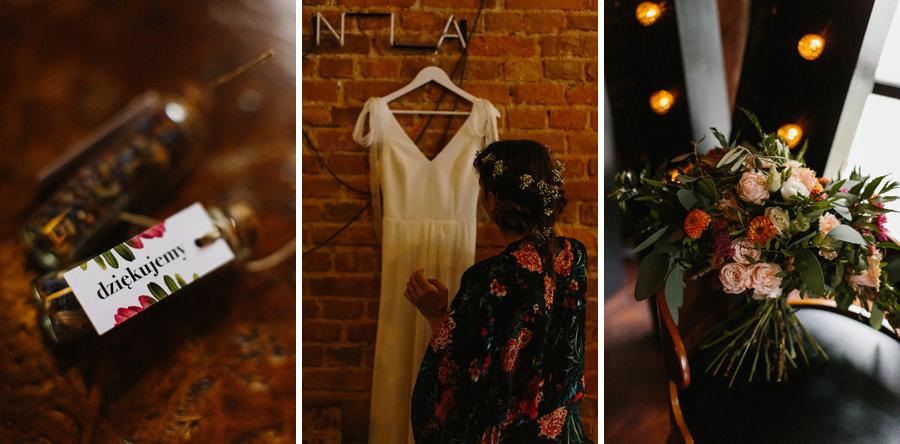 Industrialne wesele przygotowania