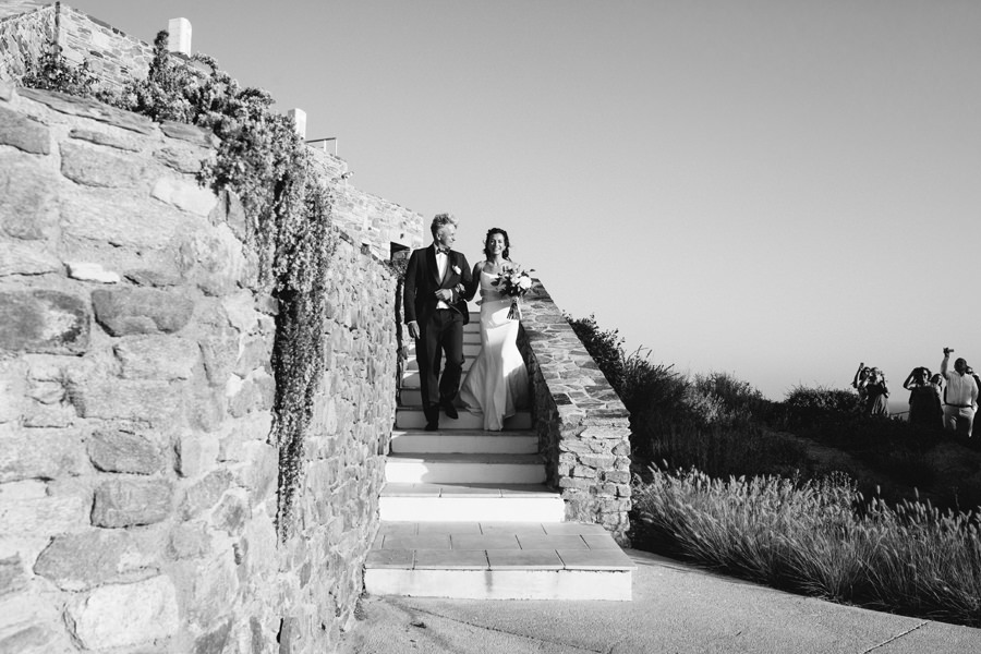 Outdoor Wedding Ios Greece Jaskolska Photography